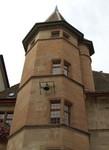 La Tour de Londres..... heu non, de Morges où nous nous sommes mariés. In de torentje is het gebeurt, de kamer bij het eerste raam.