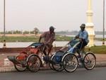 La version cambodgienne du rickshaw