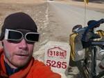 A l'approche du dernier col, le Yarle Shung la, au environ de 5000m