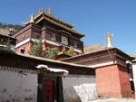 La gompa abritant les restes d'un Panchen Lama à Tashilumpo