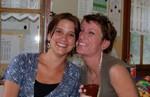 Ma belle et ma soeur. Tania en ik.
