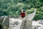 Encore un pont sur la Marsyangdi