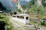 Mur de moulins à prière