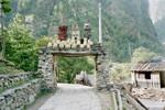 A la sortie de Dharapani