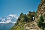 Les Annapurna II & IV, entre Ghyaru et Ngawal