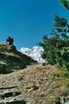 Sur les chemins entre Ghyaru et Ngawal