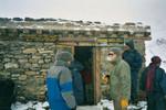 La cabane à thé au col