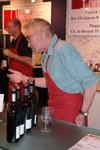Jean-Luc a la degustation de vins chez Volery-Sieber Vins