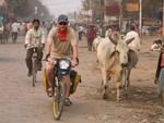 L'entrée dans Varanasi