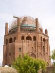 Le mausolée du sultan mongol Oljeitu à Soltaniyeh, haut de 50 mètres