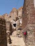 Les ruelles de Kandovan, sorte de Cappadoce miniature