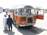 Le bus pour Arslanbob