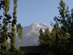 Le panorama depuis la maison 14 à Arslanbob