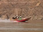Prendre un speedboat sur le Mékong est à ses risques et périls