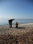 Aan het meer Léman.