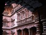 Intérieur du palais de la Kumari