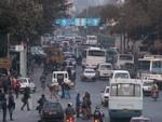 Rush hour à Kathmandu