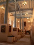 L'intérieur de la medrassa de Ulugbek