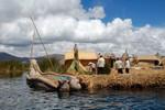 Islas flotantes, Lac Titicaca.