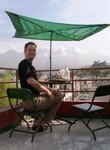 Petit déj' avec vue à Arequipa. Op het dak ontbijten met uitzicht op de stad Arequipa.