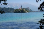 Le lac de Bled.
