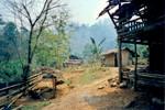 Le premier village dans lequel nous avons dormi