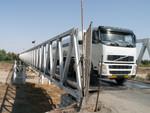 Le pont séparant l'Iran du Turkmenistan