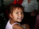 Mara, la petite qui m'a adopté durant le trajet Mary-Turkmenabad