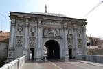 Une des portes d'entrée dans la vieille ville de Trévise.