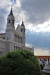 Cathédrale de Nuestra Senora de la Almudena.