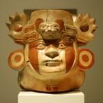 Een masker uit Zuid-Amerika.